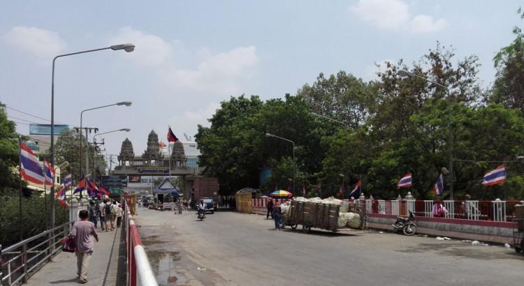 Cambodian border