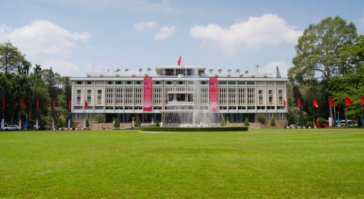 Independence Palace in Ho Chi Minh City