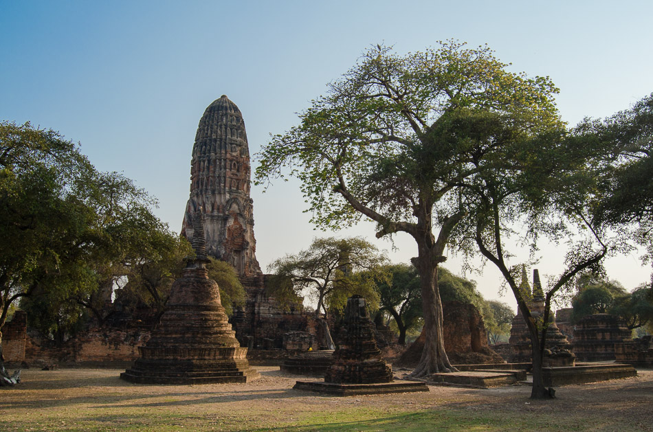 Temple in Ayutthatya