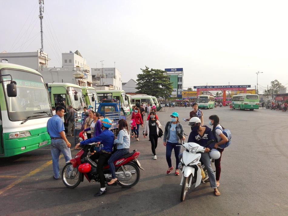 Cu Chi bus station
