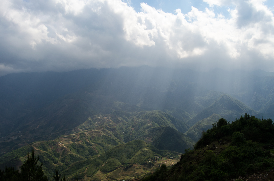 Sapa moutains view