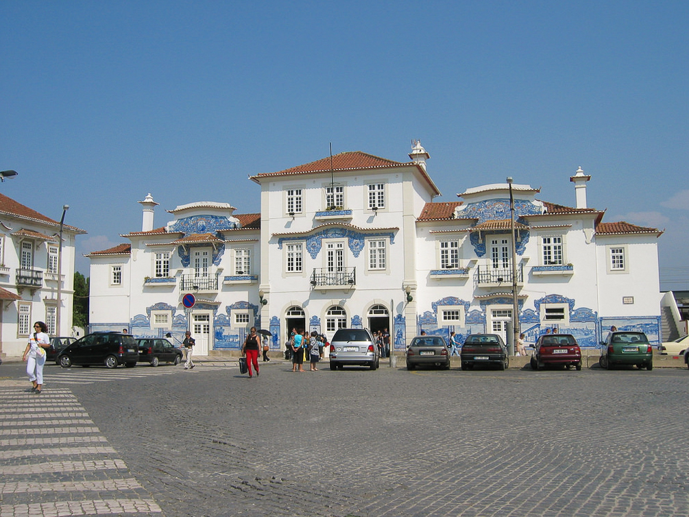 Aveiro old railway station